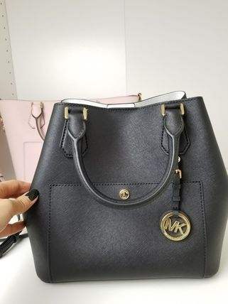 Michael Kors ハンドバッグ 【即発3-5日着】Michael Kors◆GREENWICH LG GRAB◆2WAYバッグ(4)