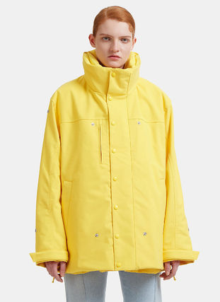 VETEMENTS'Angela Double Jacket in Yellow (送料・関税込)