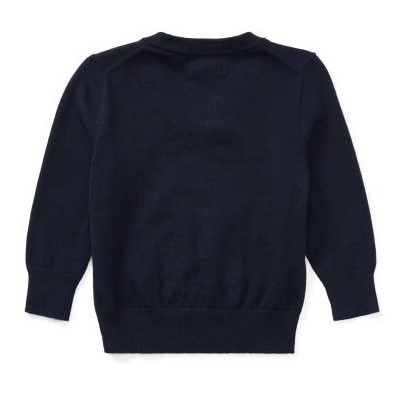 新作♪国内発送 3色Cotton V-Neck Sweater boys 0~24M