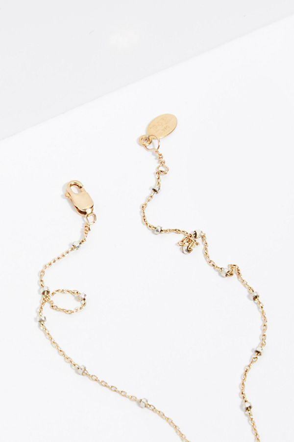 Free People フリーピープル 14k Double Face Heart ネックレス