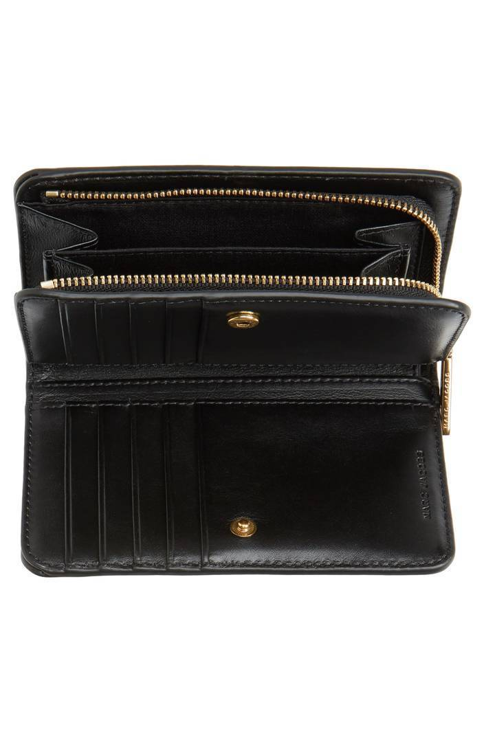 MARC JACOBS☆ストライプグリッターCompact Wallet