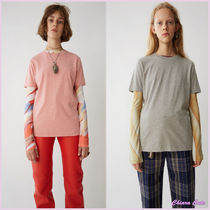 【17aw NEW】Acne_women/Stellie/2パックTシャツPK/GR