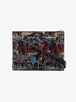 Sky Loubitag spike embellished pouch(送料・関税込)レア18ss