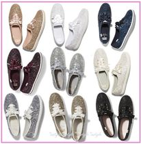 大人気☆Kate spade× Kedsコラボ ☆new york glitter sneakers