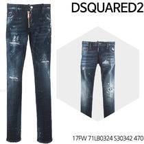 D SQUARED 2★Slim Jeans 17FW 71LB0324 S30342 470
