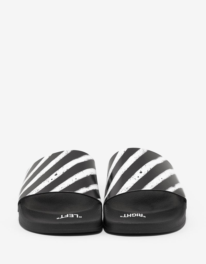 Off-White☆Spray Paint Slide Sandals
