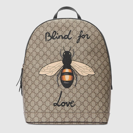 2d890b99985 ... GUCCI バックパック・リュック GUCCI☆GG Supreme BEE プリント バックパック☆(2 ...
