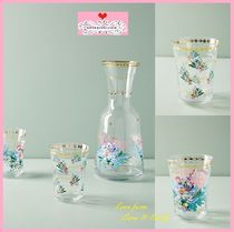 18SS☆最安*関送込【Anthro】Gilded Journey Juice Glass 2点SET