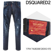 D SQUARED 2★Sexy twisted jeans 17FW 74LB0268 S30342 470