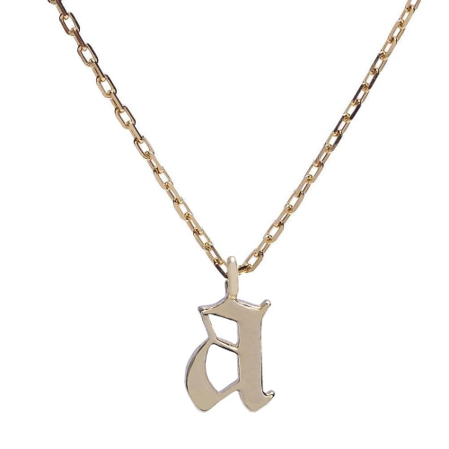 Bing Bang★Goth Initial Necklace★ネックレス A〜T ゴシック