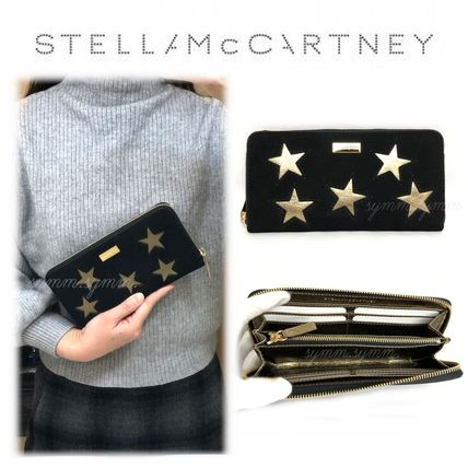 【即納】超Cute★Stella McCartney★Zip長財布★Gold star★