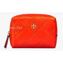 【1点即納可】TORY BURCH  GEORGIA コスメポーチ Spicy Orange