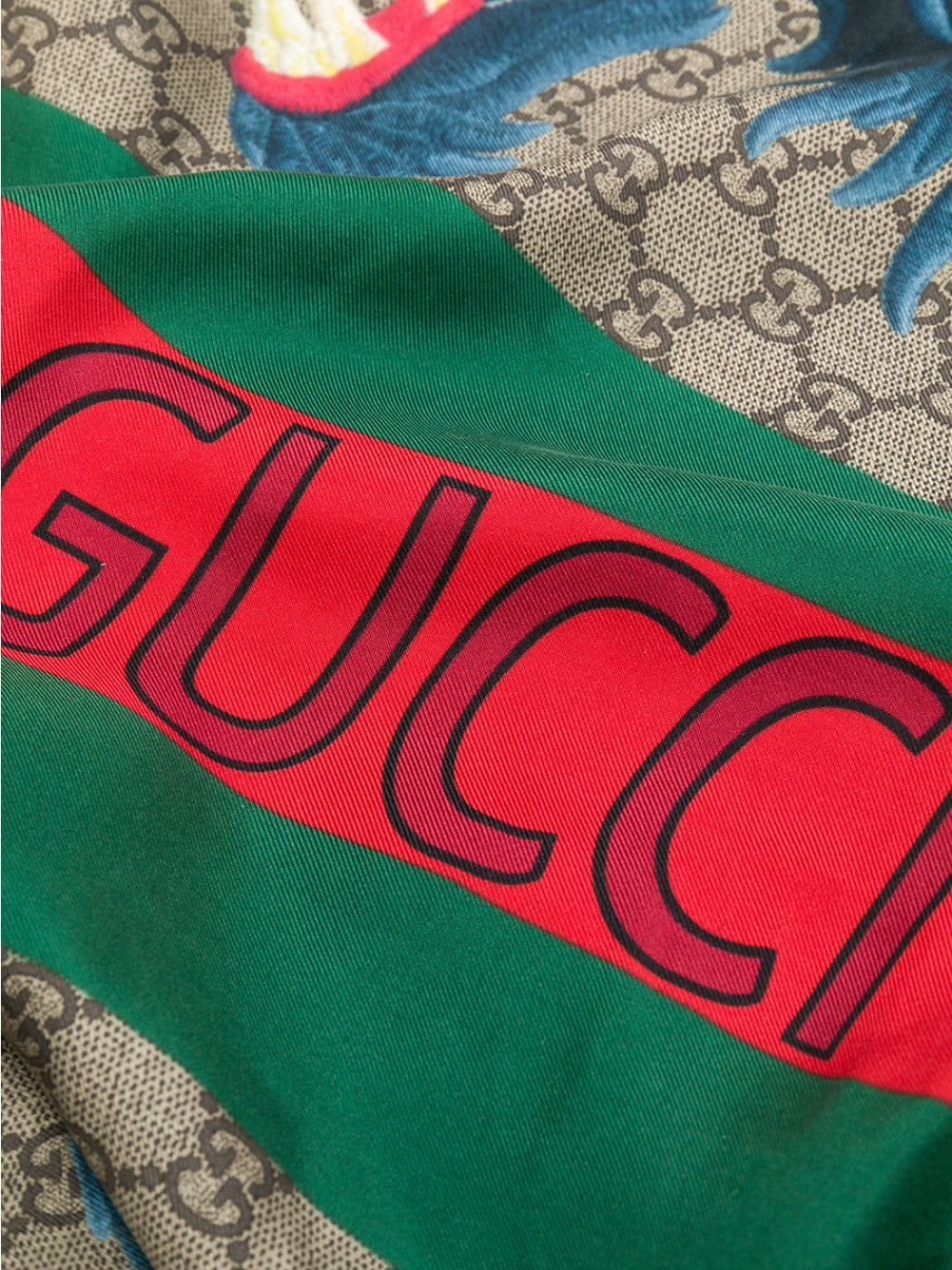 Gucci●Cute Foulard In Silk