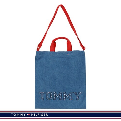 [★][SALE][Tommy Hilfiger] TOMMY デニムショッパーバック