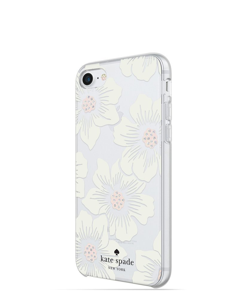 *kate spade*新作*フラワー*ストーン*iPhone8/iPhone7/iPhone6