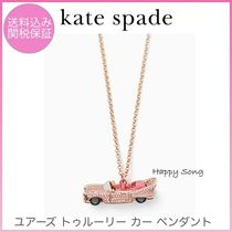 kate spade◆ビンテージカー◆ペンダント◆yours truly car