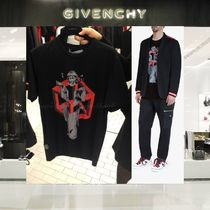 【18SS NEW】 GIVENCHY_men /ROMANTIC プリントTシャツBK