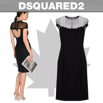★SALE★DSQUARED2☆ひざ丈ワンピース