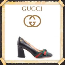 ★★GUCCI《グッチ》PUMPS WITH GROGRAIN BOW    送料込み★★
