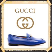 ★★GUCCI《グッチ》 BLUE BRIXTON LOAFERS   送料込み★★