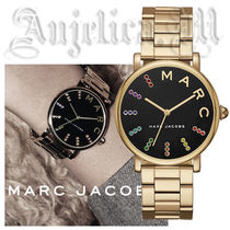 ★関税・送料込 追跡付★MARC JACOBS Classic Gold-Tone MJ3567