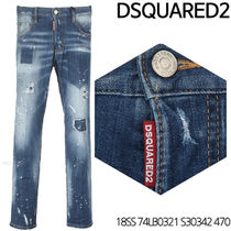 D SQUARED 2★City Bikers jeans 18SS 74LB0321 S30342 470
