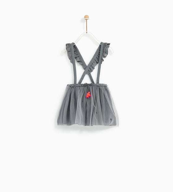 ☆Zara(ザラ) ベビーガール TULLE SKIRT WITH STRAPS