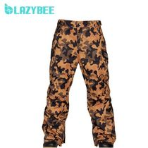 ◆Lazybee◆ [数量限定] Rush P-C.Camel/F.Black パンツ