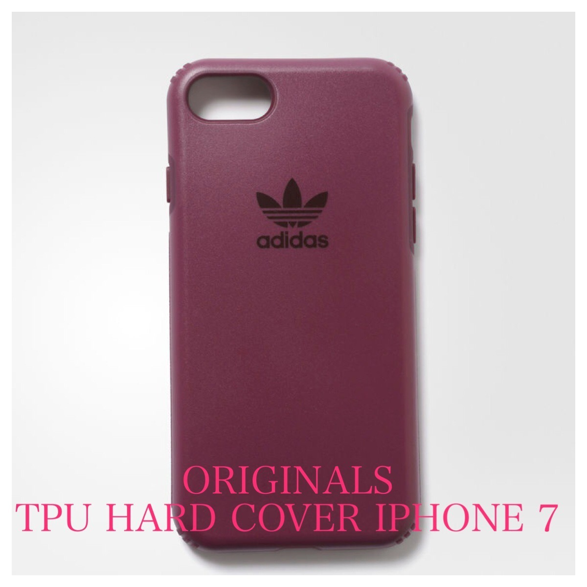 adidas♡ORIGINALS TPU HARD COVER IPHONE 7
