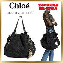 トレンド ◇See by Chloe◇ Flo Nylon Shoulder 【関税送料込】