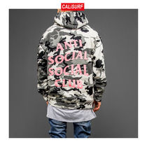 Lサイズ ANTI SOCIAL SOCIAL CLUB NOT GILDAN CAMO HOODIE