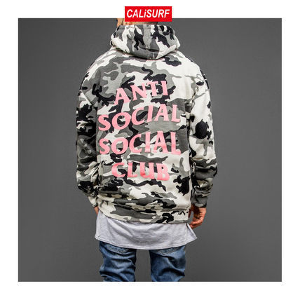 ANTI SOCIAL SOCIAL CLUB パーカー・フーディ Lサイズ ANTI SOCIAL SOCIAL CLUB NOT GILDAN CAMO HOODIE