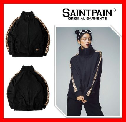 人気【SAINTPAIN】★SP BADASS SWEAT ZIPUP ☆UNISEX ★