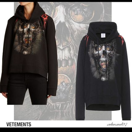 VETEMENTS Goth skull and flame 期間限定SALE 国内発送/関税込