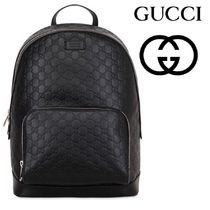 GUCCI(グッチ) GUCCI SIGNATURE LEATHER BACKPACK