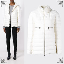 SALE【MONCLER GAMME ROUGE】ハイネック ダウンジャケット White