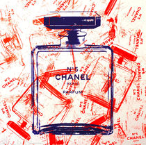 Shane Bowden ORANGE BOTTLES OF CHANEL 51x51cm 純正フレーム付