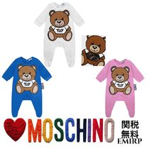 18SS☆Moschino★ギフトボックス付き☆テディベアロンパース★