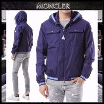 【MONCLER 】JEANCLAUDE フードウインドブレーカー BLUE/EMS直送