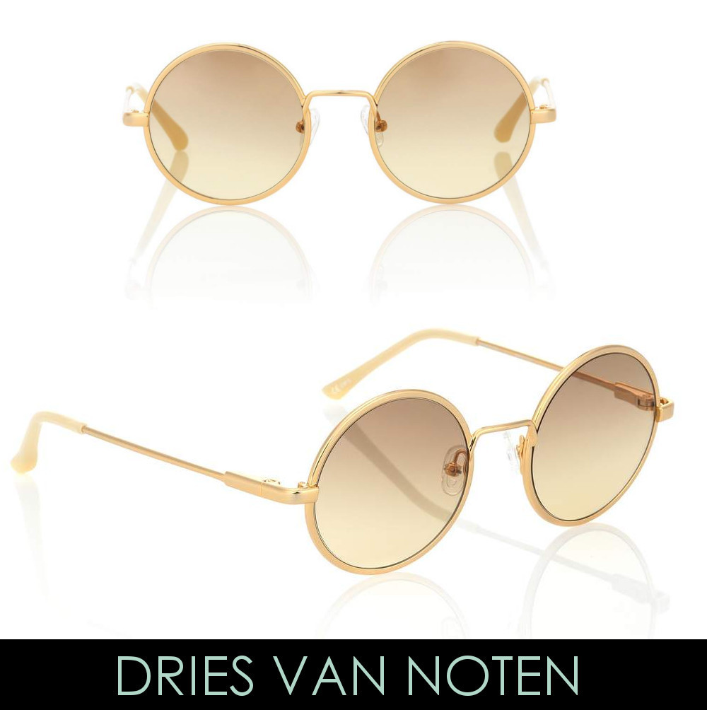 Dries Van Noten★X Linda Farrow ラウンドサングラス