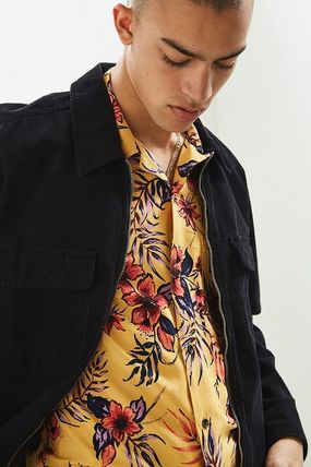 Urban Outfitters シャツ URBAN OUTFITTERS フローラルレオパード ボタンダウン シャツ(4)
