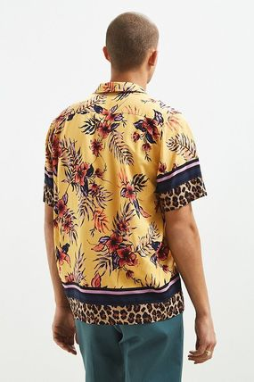 Urban Outfitters シャツ URBAN OUTFITTERS フローラルレオパード ボタンダウン シャツ(5)