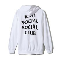 国内発送 ANTI SOCIAL SOCIAL CLUB Masochism Zip Up Hoodie