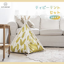HUTS AND BAY ☆ TEEPEE TENT ティピーテントセット =Sサイズ=