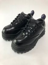 Angel Leather Sneakers in Black エンジェル スニーカー