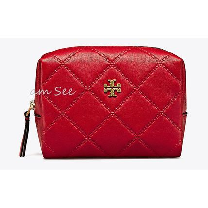 【1点即納可】TORY BURCH  GEORGIA コスメポーチ Liberty Red