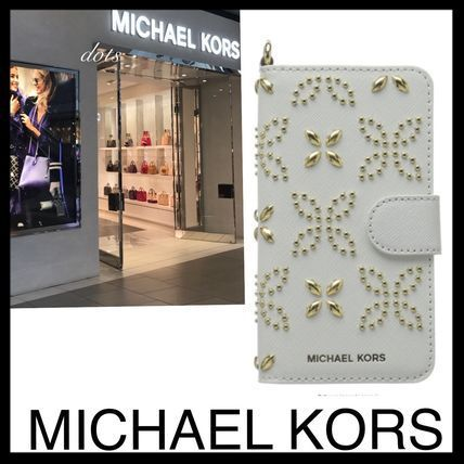 即納!Michael Kors★iPhoneケース