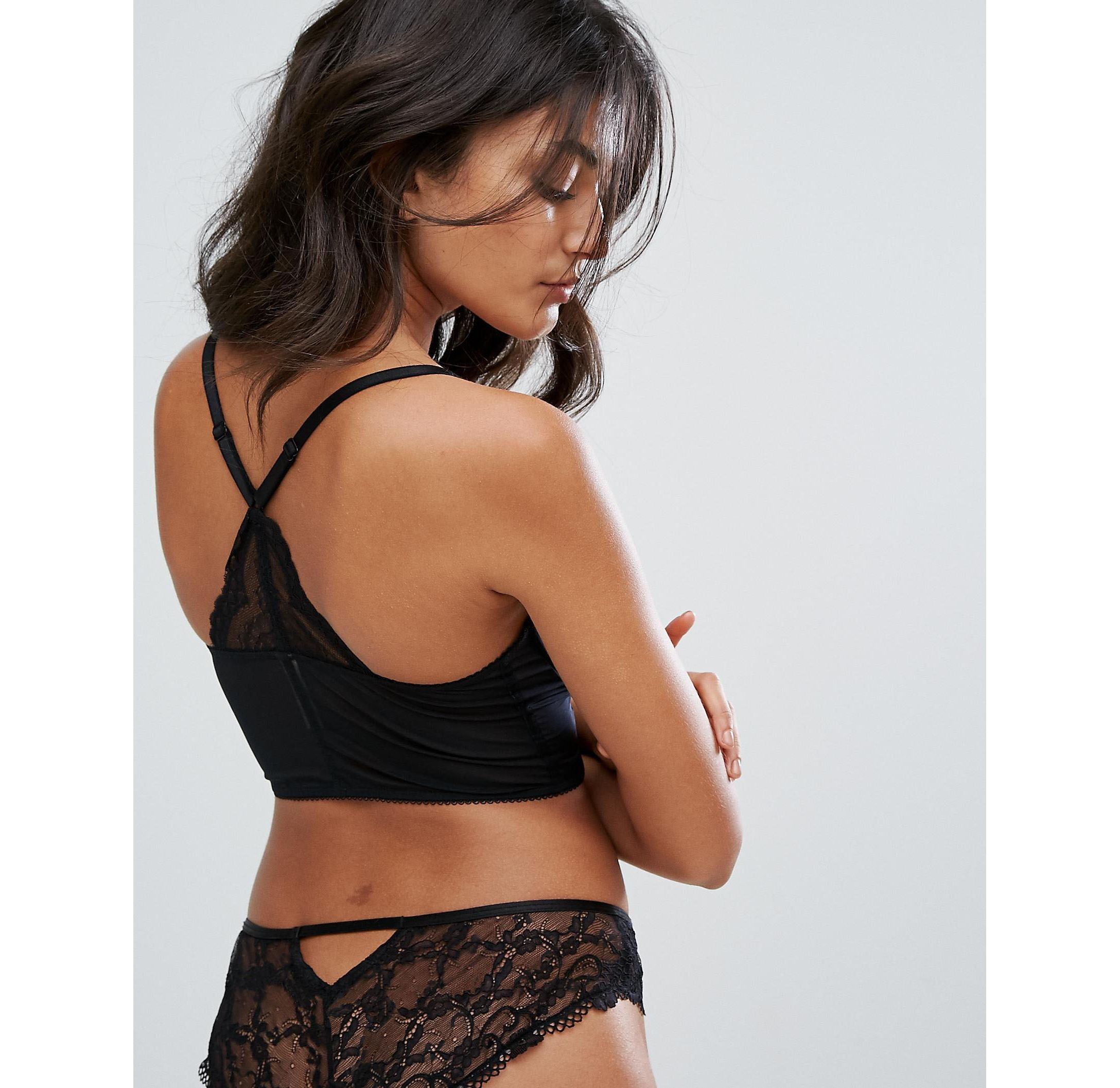 ★ASOSセレクト★Gossard スーパーboost Lace Deep V Bralette
