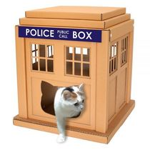★猫ハウス★Dr Who TardisのCat House♪