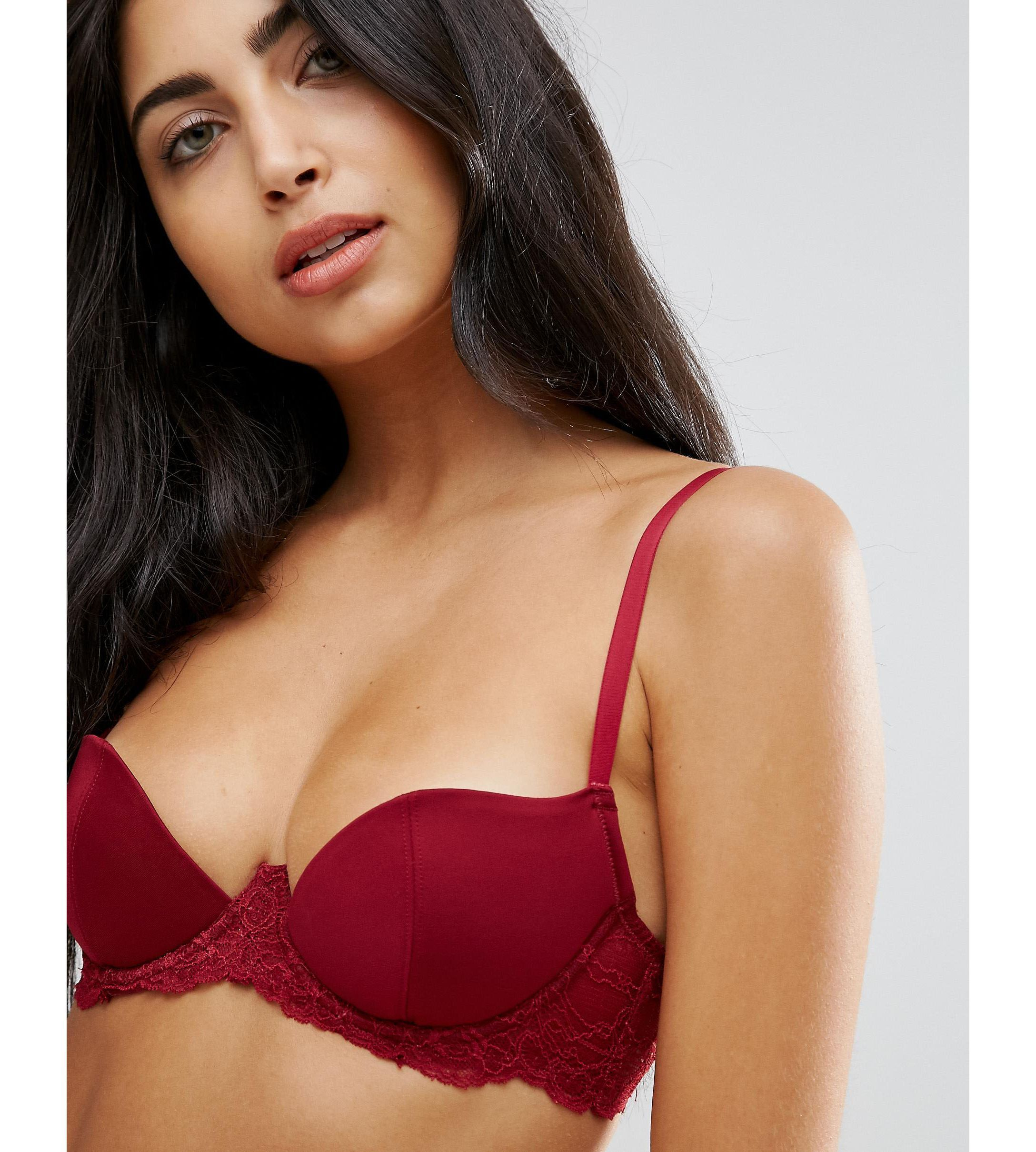 ★ASOS★ Carly Microfibre Moulded Underwire Bra